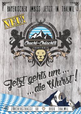 Viva Colores Chuchi Chäschtli Foodtruck Restaurant Food Werbung Print Grafik Grafikdesign Logo Logodesign Flyer