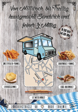 Viva Colores Chuchi Chäschtli Foodtruck Restaurant Food Werbung Print Grafik Grafikdesign Logo Logodesign Flyer