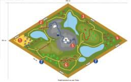 Viva Colores Coop Familienwanderung Wanderwege Schweiz Modell Unikat Handarbeit Landschaft Modellbau Design Event Dekoration Deko Spiel Eventspiele Holz Plan Grafik Illustration