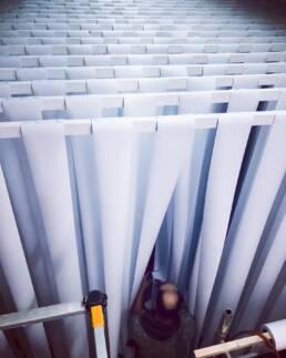 Viva Colores Team Agentur Werkstatt Unikat Handwerk Holz Druck Metallkonstruktion Dekoration Deko Eventspiele Beschriftung Montagearbeiten Event Mammut Salesmeeting Eishöhle Eis Höhle