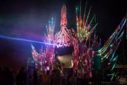 Viva Colores Stagedesign Festival Bühne Bühnendeko Party Dekoration Deko Handarbeit Unikat Holz