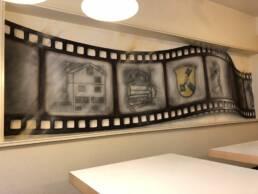Viva Colores Team Design Kreativmalerei Agentur Werkstatt Unikat Handwerk Holz Sprayer Graffiti Grafik Druck Metallkonstruktion Dekoration Eventspiele Beschriftung Montagearbeiten Workshop Logodesign Logo Visualisierungen Illustrationen